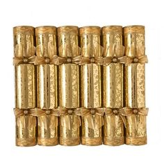 Fortnum & Mason Gold Leaf Christmas Crackers £60