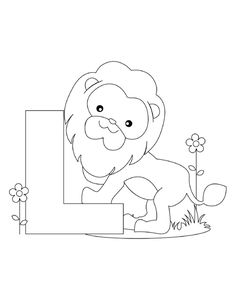 Printable Alphabet Coloring Pages Collection. Well, what do you think about alphabet coloring pages? Before recognizing it more, let's check what alphabet is! Letter A Coloring Pages, Lion Coloring Pages, Coloring Letters, Train Coloring Pages, Preschool Coloring Pages, Coloring Pages For Kids, Coloring Sheets, Coloring Books, Animal Alphabet