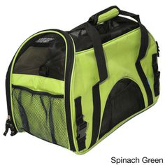 @Overstock - Oxgord Large Pet Carrier Soft-sided Cat/ Dog Comfort Travel Tote for Pets Up to 22 Pounds - The Oxgord pet carrier provides the perfect experience for you and your pet that focuses on comfort and safety. Now you and your furry friend can achieve maximum comfort while traveling with durable handles, a safety belt buckle and great ...