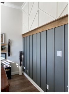 Home Renovation, Home Remodeling, Young House Love, Wood Accents, Wood Accent Walls, Kitchen Accent Walls, Painting Accent Walls, Black Accent Walls, Home Projects