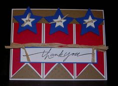 WT400, Veteran Thank You by Pam MacKay - Cards and Paper Crafts at Splitcoaststampers