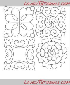 patterns for piping royal icing Piping Templates, Piping Patterns, Royal Icing Templates, Royal Icing Transfers, Cake Templates, Pretty Patterns, Cake Decorating Techniques, Cake Decorating Tips, Cookie Decorating