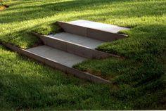stair detail - landscape design by HMWhite