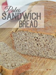 Since 2005 I have been searching for a gluten-free Paleo Sandwich Bread. I've blended flours, ground my own rice and corn, and used ground beans as bread ingredients. None of them ever came anywhere close to being something edible. Until now. Try this delicious Paleo Sandwich Bread. The Seasoned Homemaker
