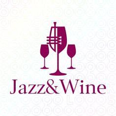 Jazz & Wine logo