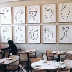 The Paddington Inn, Sydney Arte Online, Interior Design Elements, Restaurant Interiors, Building Designs, Black And White Drawing, Playlists, Textile Prints, Retail Design, Picture Wall