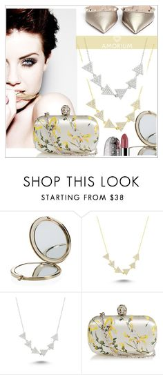 """""""AMORIUM 5."""" by selmir ❤ liked on Polyvore featuring Henri Bendel, Amorium, Alexander McQueen, Valentino, Guerlain, women's clothing, women, female, woman and misses"""