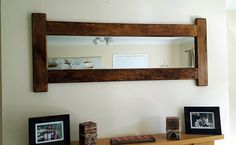 Check out this item in my Etsy shop https://www.etsy.com/uk/listing/265528014/wooden-mirror-large-rustic-handmade