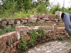 stenen stapelen voor tuinmuur - Google zoeken
