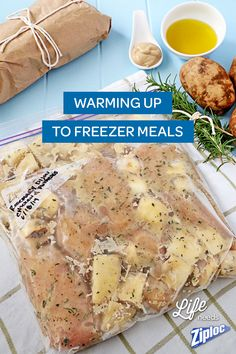Freezer meal recipes perfect for busy moms. Prepare and freeze, then just warm in the oven or crock pot for a delicious, quick meal!