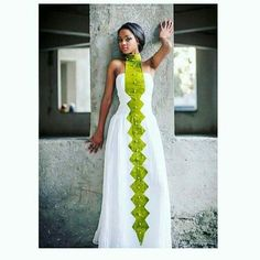 Ethiopian traditional dress More African Wedding Dress, African Print Dresses, African Fashion Dresses, African Dress, Ghanaian Fashion, African Prints, African Inspired Fashion, African Print Fashion, Africa Fashion