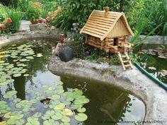 EPDM Liners for Pond leaks and Fish Pond Repair. Pond pro 2000 is a liquid EPDM and compatable to your EPDM pond liner sold in pond supply stores. Pond Landscaping, Ponds Backyard, Landscape Design, Garden Design, Front Yard Design, Pool Designs, Garden Styles, Garden Bridge, Garden Inspiration