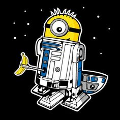 Minion-D2 #nerd #minion #starwars
