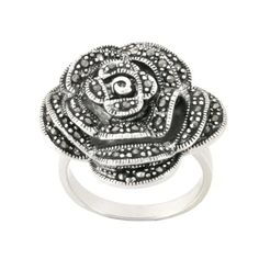 Sterling Silver Marcasite Rose Ring, Size 6 Amazon Curated Collection,http://www.amazon.com/dp/B0043XYUJC/ref=cm_sw_r_pi_dp_Q3H.rb15FSK6KVEZ