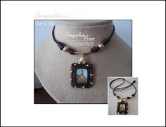 Angeles Vera Bisutería: ESPECIAL ESCAPULARIOS Pendant Necklace, Jewelry, Fashion, Necklaces, Bangle Bracelets, Religious Jewelry, Textile Jewelry, Moustaches, Accessories