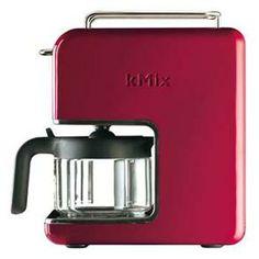 Uaaaaaaau fazer café assim vai ficar fácil: Cafeteira Kenwood