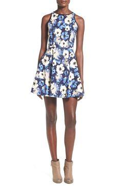 Modiste Dresses Floral Print Fit & Flare Dress available at #Nordstrom