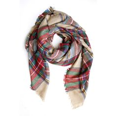 Classic Tartan Blanket Scarf Accessory Concierge ($30) ❤ liked on Polyvore featuring accessories, scarves, tartan shawl, tartan scarves, blanket scarf, tartan plaid scarves and tartan plaid blanket scarf