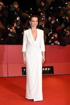 Juliette Binoche in Armani Privé - 'Nobody Wants the Night' Premiere at the Berlinale