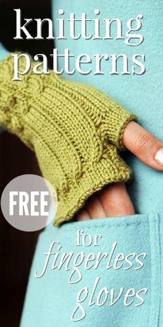 Six Best Free Patterns For Fingerless Gloves