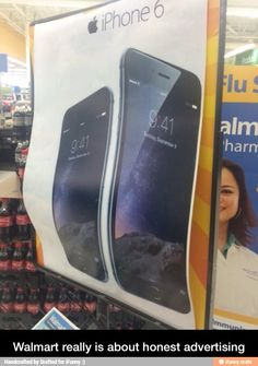 Walmart really is about honest advertising / iFunny :)