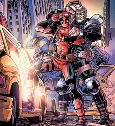 Great Scott! Chimichangas! Marvel announced a few days ago this variant 'Deadpool and Cable: Split Second # 2' variant cover by artist Reilly Brown.  #marvel #comics #deadpool #cable #splitsecond #reillyobrown #variant #bttf #bttf2 #FLYGUY #twitter #googleplus