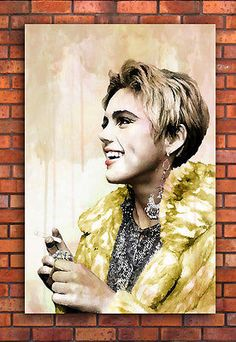 Edie sedgwick #canvas #framed wall art print - 60s #fashion a1 a2 a3 a4,  View more on the LINK: 	http://www.zeppy.io/product/gb/2/171853708527/