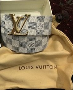 New Authentic Louis Vuitton LV Initials Damier Graphite Mens Belt Size 85/34 null http://www.amazon.com/dp/B00K1FBTMC/ref=cm_sw_r_pi_dp_aZyNtb0QG80EZERV