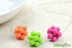 Cute Jewelry Design-Create Your Own Necklace Adorned with 3 Beaded Balls - Pandahall.com