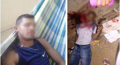 DE OLHO 24HORAS: Jovem é linchado e atingido por golpes de facão em...