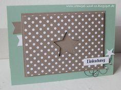 #CASE, #Stern, #Karten, #Einladung, #Geburtstag, #Cards, #Birthday, #stampinup, #papierträumeundstempelliebe,