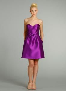 Cheap Purple Satin A-line Knee Length Bridesmaid Dress with Strapless Sweetheart Neckline is on Sale! Buy Purple Satin A-line Knee Length Bridesmaid Dress with Strapless Sweetheart Neckline at BridesmaidWire Now. Purple Bridesmaid Gowns, Knee Length Bridesmaid Dresses, Prom Dresses, Wedding Dresses, Bridesmaids, Dresses 2014, Spring Dresses, Long Dresses, Violet Dresses
