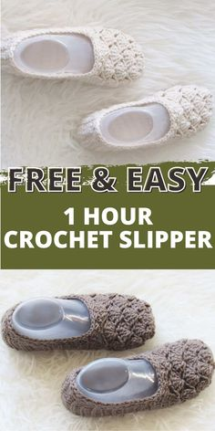 Crochet 101, Quick Crochet, Crochet Stitches, Crochet Baby, Free Crochet, Crochet Sandals, Crochet Shoes, Crochet Slippers, Crochet Slipper Pattern