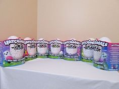 Complete Set of All 7 Hatchimals In Hand Owlicorn Bearakeet Burtle Collectible #SPINMASTER