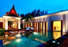 Seven or ten nights of sheer five-star luxury in a private pool villa in Phuket, with a Thai massage, flights and transfers included