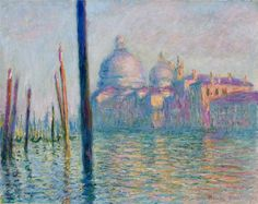 Claude Monet - The Grand Canal in Venice 01, 1908 - #art