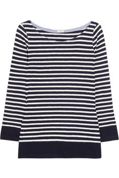 J.Crew|Jenny striped cotton top|NET-A-PORTER.COM