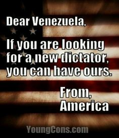 Barry can pack and be there soon, fake passport and ID included. He can even update his certificate of live lies to read Venezuela.