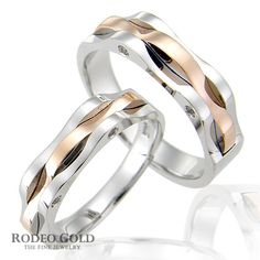 Gold wedding bands TCR11095
