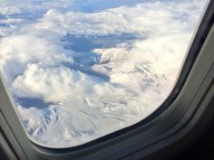 Cape's snow capped mountains from above!