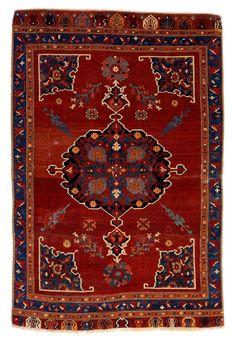 Small Medallion Carpet. Central Anatolia, Turkey probably Konya province, 17th century. Gift of James F. Ballard,