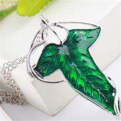 LOTR Leaf necklace