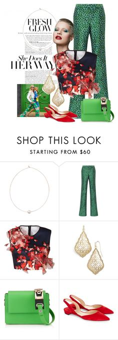 """""""Confidence is sexy...wear it daily"""" by obsessedaboutstyle on Polyvore featuring Shop Latitude Bazaar, Monique Lhuillier, Clover Canyon, Kendra Scott and Paul Andrew"""