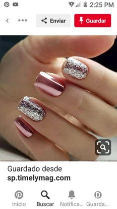 60 Stylish Winter Nail Designs To Copy This Season These trendy Nail Designs ideas would gain you amazing compliments. Check out our gallery for more ideas these are trendy this year. Square Nail Designs, Short Nail Designs, Winter Nail Designs, Square Nails, Trendy Nails, Short Nails, Winter Nails, Winter Season, Pink Nails