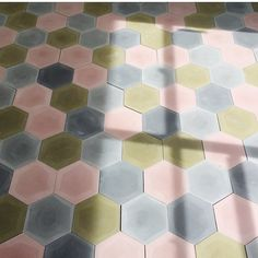"889 Likes, 15 Comments - Caitlin Dowe-Sandes (@pophamdesign) on Instagram: ""Look at that sunlight falling on our #pophamdesign HEXAGON #handmade #concretetiles patiently…"""