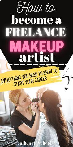 Becoming A Makeup Artist, Makeup Artist Tips, Freelance Makeup Artist, Makeup Artistry, Hair And Makeup Artist, Beginner Makeup, Makeup For Beginners, Makeup Kit, Eye Makeup
