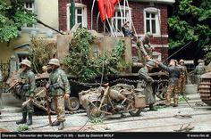 Diorama Defending Swords - Arnheim, September 1944 - built by Dietrich Wolf (1:35)