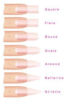 Nagelformen - Amanda Nails & Beauty GmbH