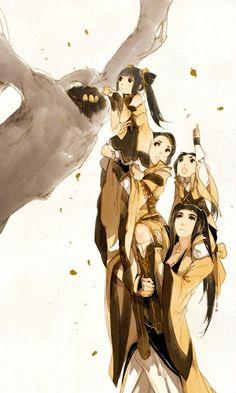 Môn phái: Tàng Kiếm - VLTK3D - Minh họa: Ibuki Satsuki