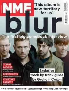 Blur include records by Ellie Goulding, Radiohead, Bowie, Nick Drake in favourite albums list Music Magazines, Film Music Books, Music Love, My Music, Nme Magazine, Magazine Covers, Graham Coxon, Nick Drake, Young Fathers